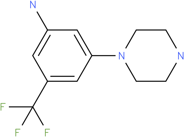 3-Piperazin-1-yl-5-trifluoromethyl-phenylamine