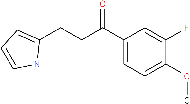 1-(3-Fluoro-4-methoxy-phenyl)-3-(1H-pyrrol-2-yl)-propan-1-one