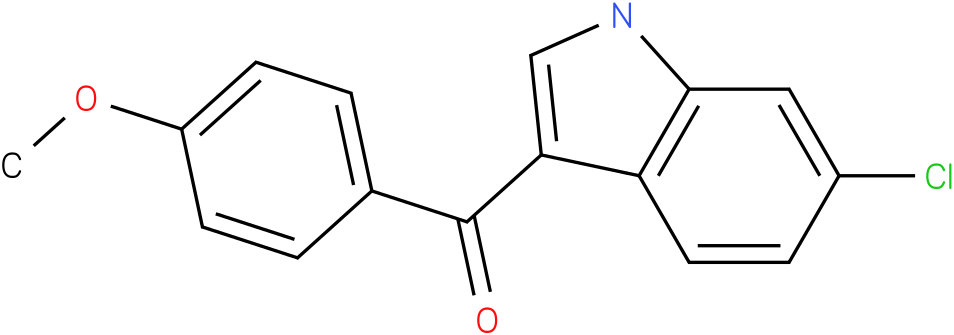 (6-Chloro-1H-indol-3-yl)-(4-methoxy-phenyl)-methanone