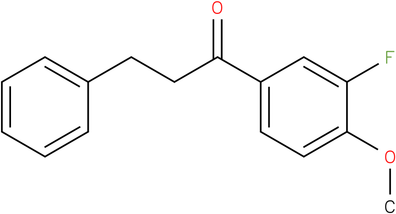 1-(3-Fluoro-4-methoxy-phenyl)-3-phenyl-propan-1-one
