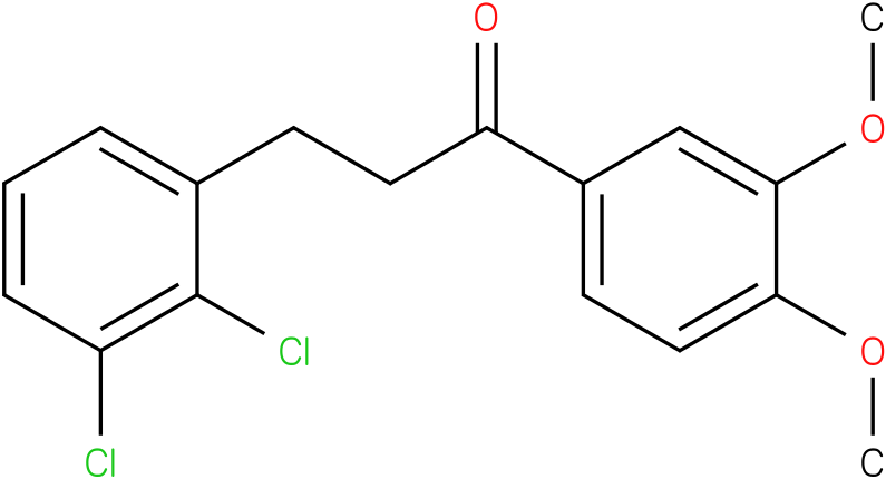 3-(2,3-Dichloro-phenyl)-1-(3,4-dimethoxy-phenyl)-propan-1-one