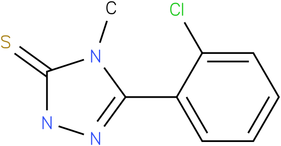 5-(2-Chloro-phenyl)-4-methyl-2,4-dihydro-[1,2,4]triazole-3-thione