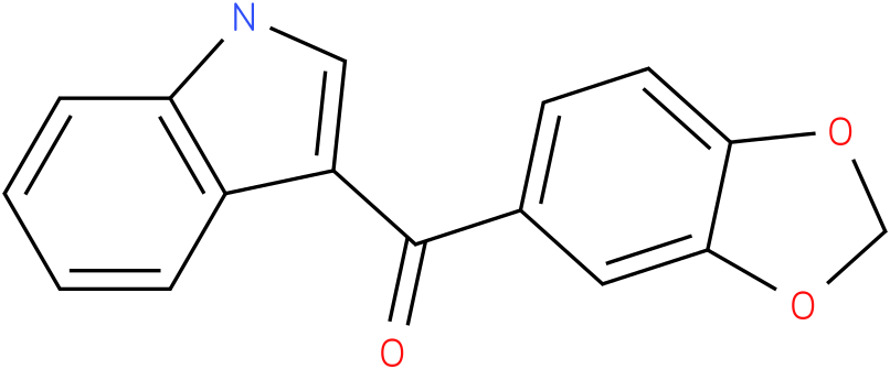 Benzo[1,3]dioxol-5-yl-(1H-indol-3-yl)-methanone