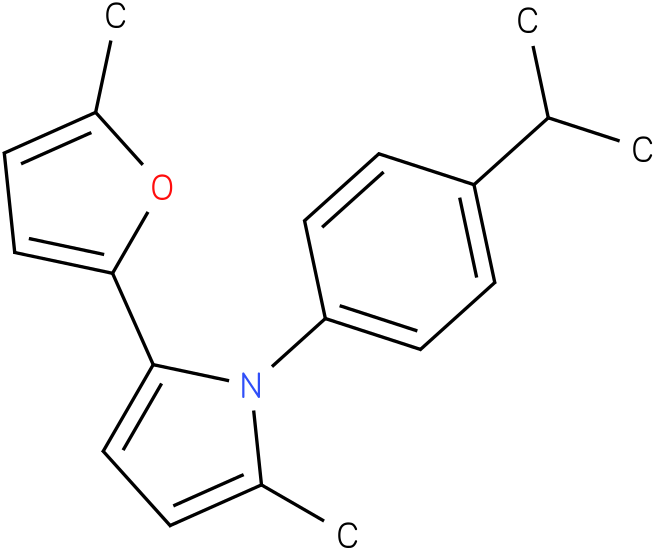 1-(4-Isopropyl-phenyl)-2-methyl-5-(5-methyl-furan-2-yl)-1H-pyrrole