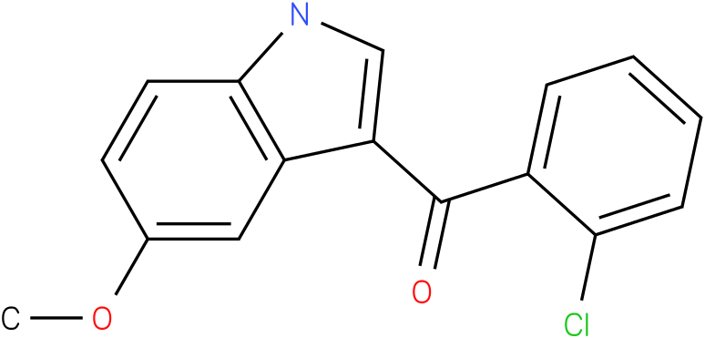 (2-Chloro-phenyl)-(5-methoxy-1H-indol-3-yl)-methanone