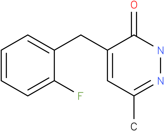 4-(2-Fluoro-benzyl)-6-methyl-2H-pyridazin-3-one