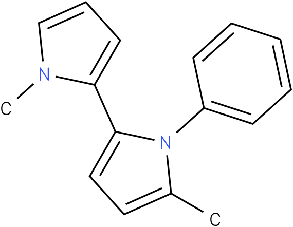 5,1'-Dimethyl-1-phenyl-1H,1'H-[2,2']bipyrrolyl