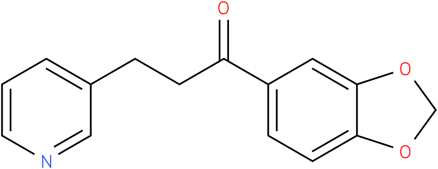 1-Benzo[1,3]dioxol-5-yl-3-pyridin-3-yl-propan-1-one