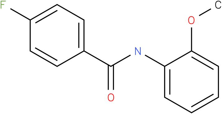 4-Fluoro-N-(2-methoxy-phenyl)-benzamide