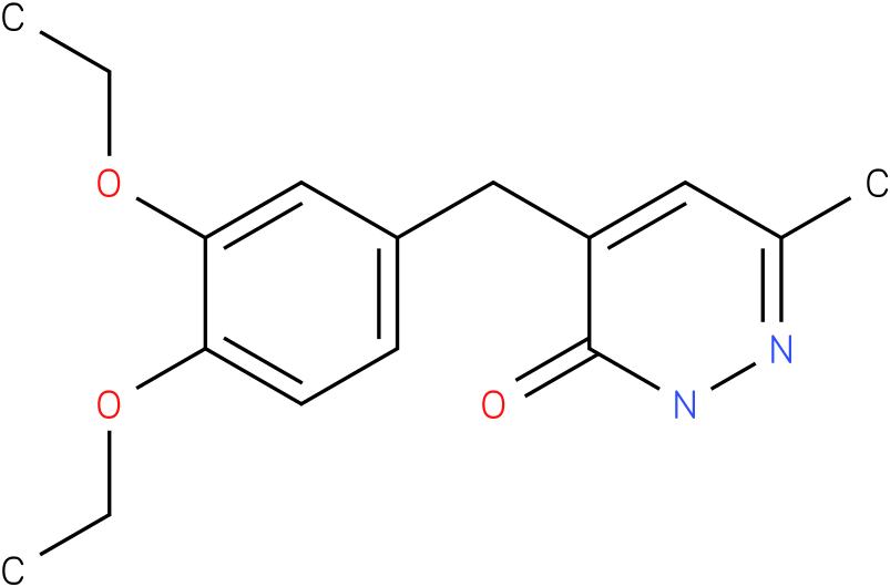 4-(3,4-Diethoxy-benzyl)-6-methyl-2H-pyridazin-3-one