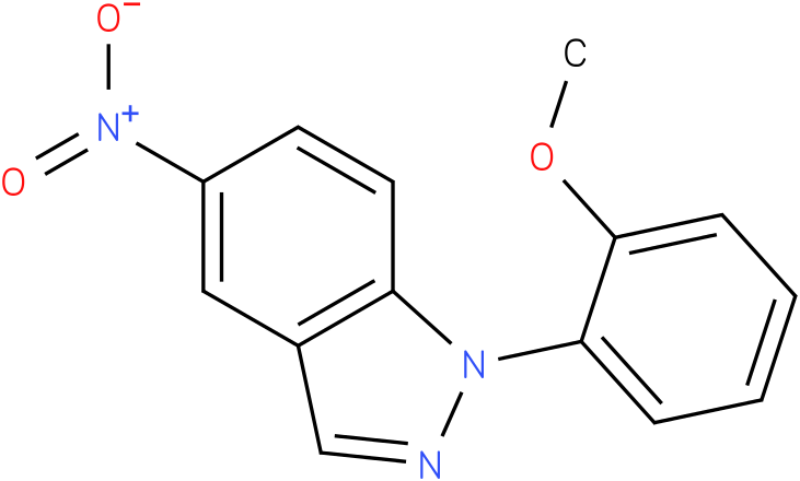 1-(2-Methoxy-phenyl)-5-nitro-1H-indazole