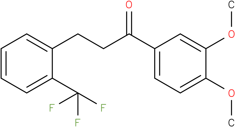 1-(3,4-Dimethoxy-phenyl)-3-(2-trifluoromethyl-phenyl)-propan-1-one