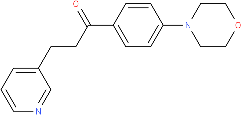 1-(4-Morpholin-4-yl-phenyl)-3-pyridin-3-yl-propan-1-one
