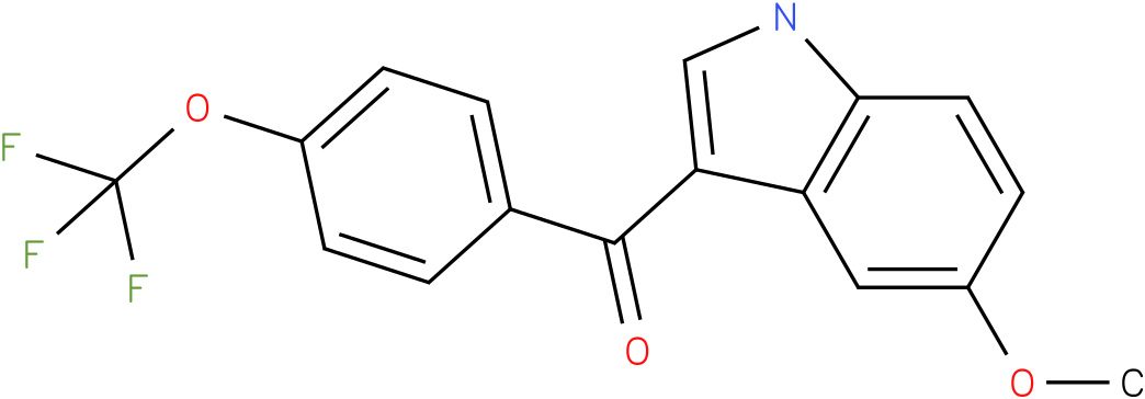 (5-Methoxy-1H-indol-3-yl)-(4-trifluoromethoxy-phenyl)-methanone
