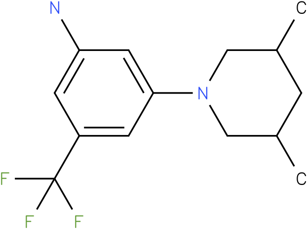 3-(3,5-Dimethyl-piperidin-1-yl)-5-trifluoromethyl-phenylamine