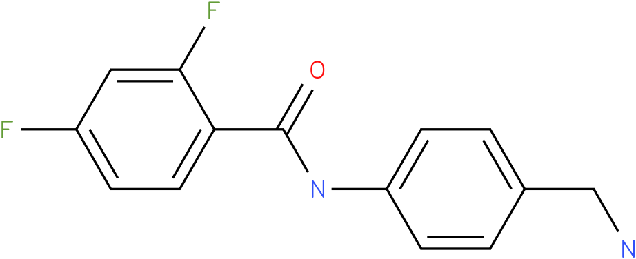 N-(4-Aminomethyl-phenyl)-2,4-difluoro-benzamide