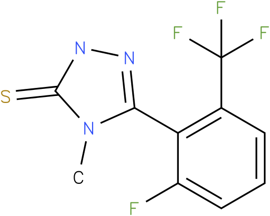 5-(2-Fluoro-6-trifluoromethyl-phenyl)-4-methyl-2,4-dihydro-[1,2,4]triazole-3-thione