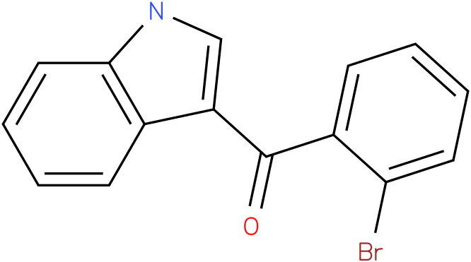 (2-Bromo-phenyl)-(1H-indol-3-yl)-methanone