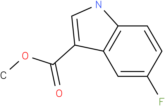 5-Fluoro-1H-indole-3-carboxylic acid methyl ester