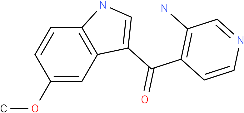 (3-Amino-pyridin-4-yl)-(5-methoxy-1H-indol-3-yl)-methanone