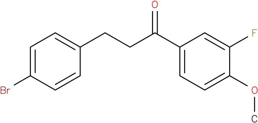 3-(4-Bromo-phenyl)-1-(3-fluoro-4-methoxy-phenyl)-propan-1-one