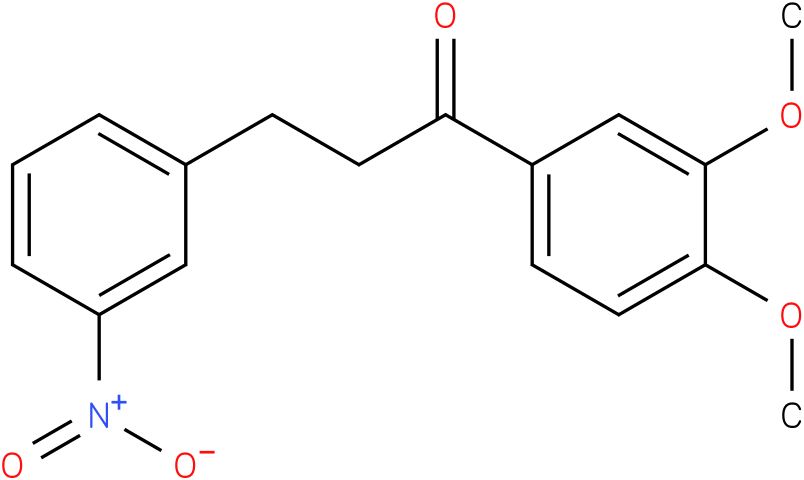 1-(3,4-Dimethoxy-phenyl)-3-(3-nitro-phenyl)-propan-1-one