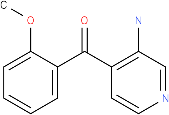 (3-Amino-pyridin-4-yl)-(2-methoxy-phenyl)-methanone