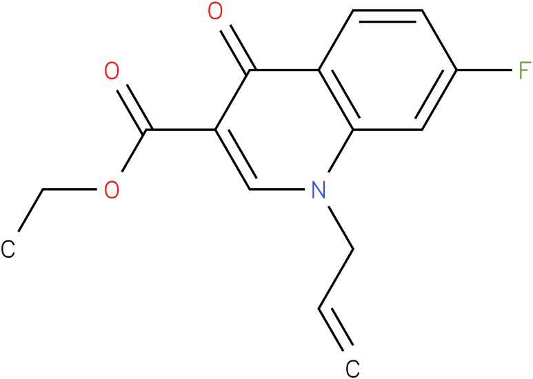 1-Allyl-7-fluoro-4-oxo-1,4-dihydro-quinoline-3-carboxylic acid ethyl ester