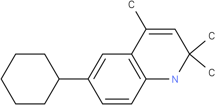 6-Cyclohexyl-2,2,4-trimethyl-1,2-dihydro-quinoline