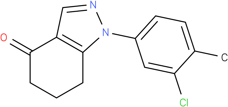 1-(3-Chloro-4-methyl-phenyl)-1,5,6,7-tetrahydro-indazol-4-one