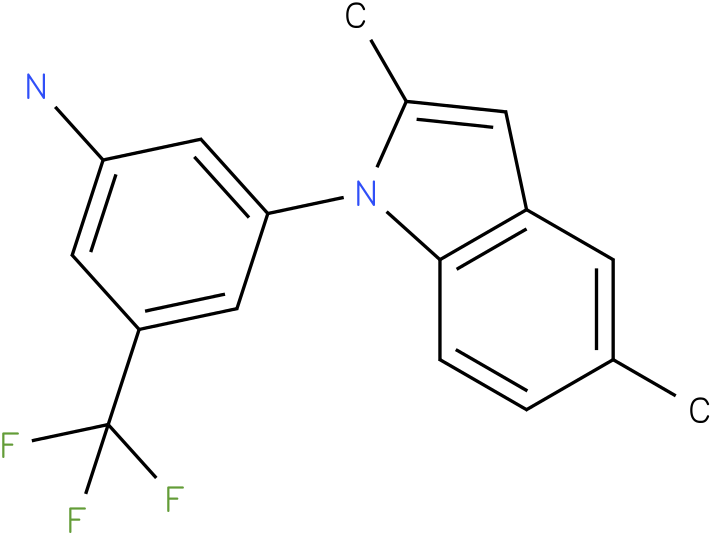 3-(2,5-Dimethyl-indol-1-yl)-5-trifluoromethyl-phenylamine