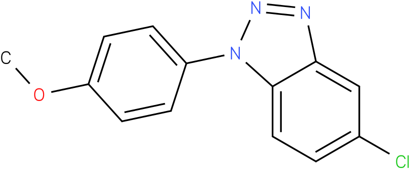 5-Chloro-1-(4-methoxy-phenyl)-1H-benzotriazole