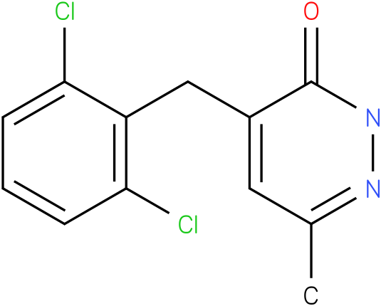 4-(2,6-Dichloro-benzyl)-6-methyl-2H-pyridazin-3-one