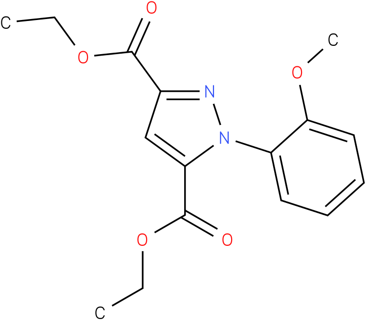 1-(2-Methoxy-phenyl)-1H-pyrazole-3,5-dicarboxylic acid diethyl ester