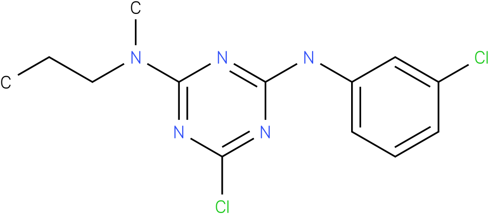 6-Chloro-N-(3-chloro-phenyl)-N'-methyl-N'-propyl-[1,3,5]triazine-2,4-diamine