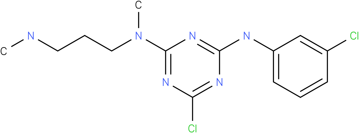 6-Chloro-N-(3-chloro-phenyl)-N'-methyl-N'-(3-methylamino-propyl)-[1,3,5]triazine-2,4-diamine