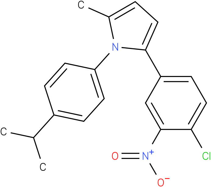 2-(4-Chloro-3-nitro-phenyl)-1-(4-isopropyl-phenyl)-5-methyl-1H-pyrrole