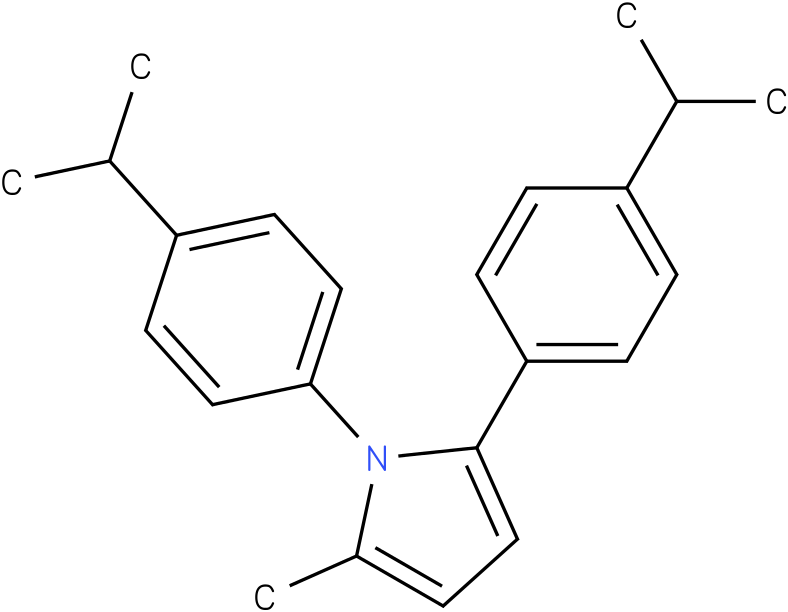 1,2-Bis-(4-isopropyl-phenyl)-5-methyl-1H-pyrrole