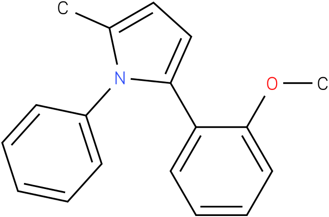 2-(2-Methoxy-phenyl)-5-methyl-1-phenyl-1H-pyrrole