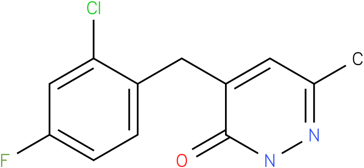 4-(2-Chloro-4-fluoro-benzyl)-6-methyl-2H-pyridazin-3-one
