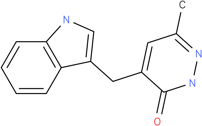 4-(1H-Indol-3-ylmethyl)-6-methyl-2H-pyridazin-3-one