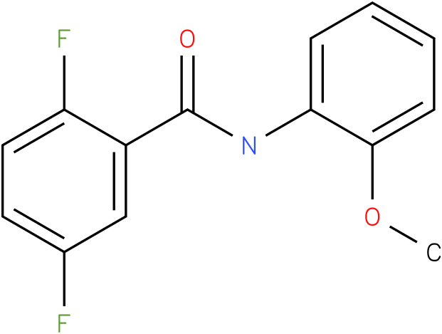 2,5-Difluoro-N-(2-methoxy-phenyl)-benzamide