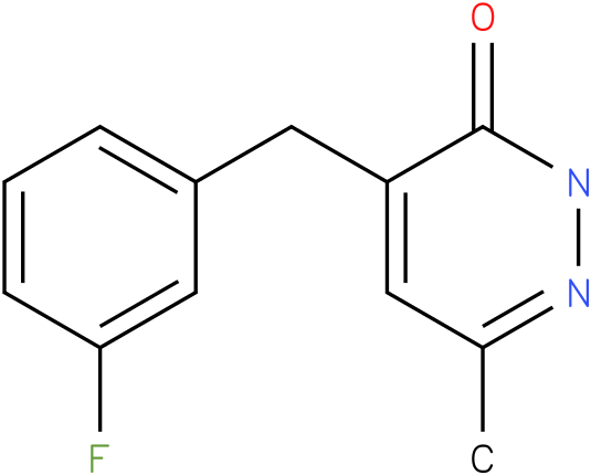 4-(3-Fluoro-benzyl)-6-methyl-2H-pyridazin-3-one