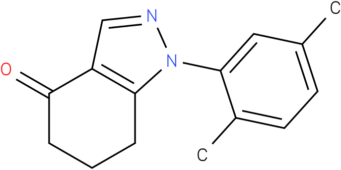 1-(2,5-Dimethyl-phenyl)-1,5,6,7-tetrahydro-indazol-4-one