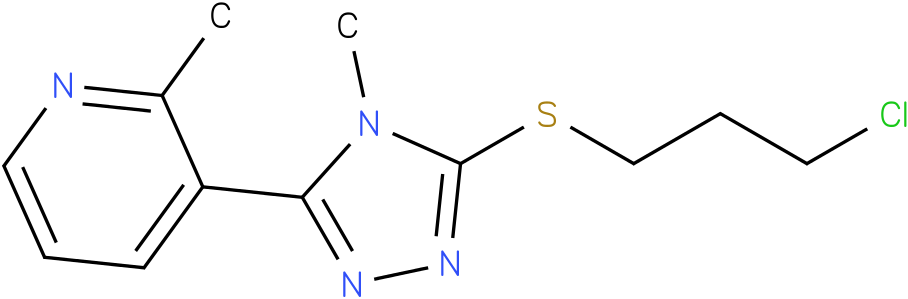 3-[5-(3-Chloro-propylsulfanyl)-4-methyl-4H-[1,2,4]triazol-3-yl]-2-methyl-pyridine