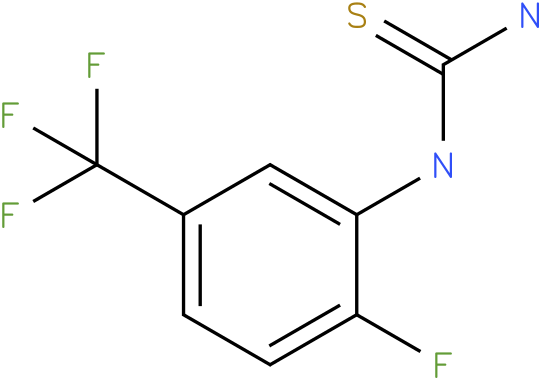 (2-Fluoro-5-trifluoromethyl-phenyl)-thiourea