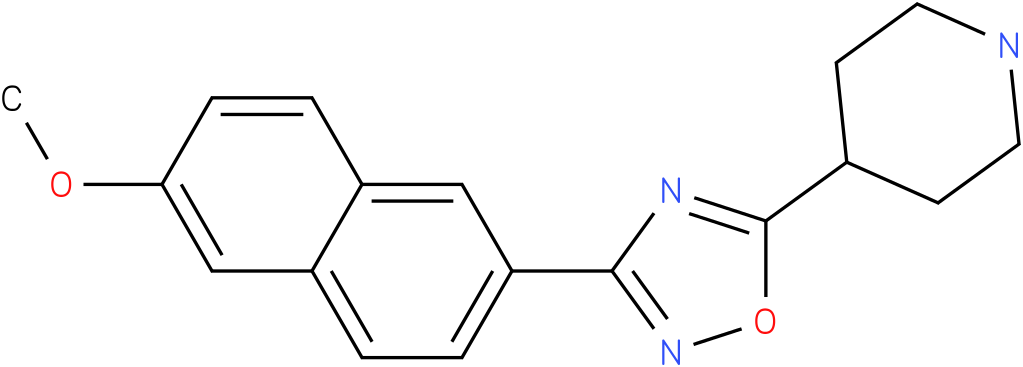 4-[3-(6-Methoxy-naphthalen-2-yl)-[1,2,4]oxadiazol-5-yl]-piperidine