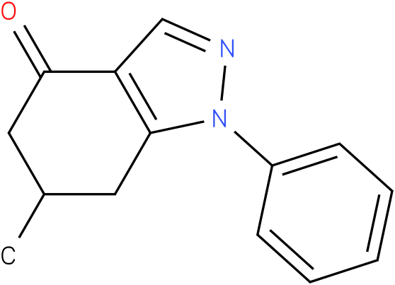 6-Methyl-1-phenyl-1,5,6,7-tetrahydro-indazol-4-one