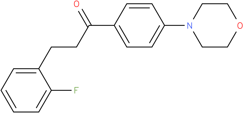 3-(2-Fluoro-phenyl)-1-(4-morpholin-4-yl-phenyl)-propan-1-one