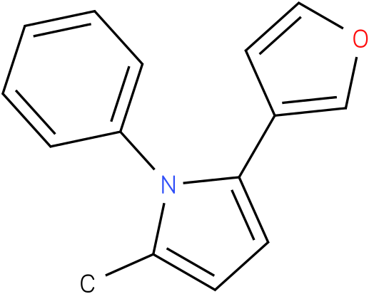 2-Furan-3-yl-5-methyl-1-phenyl-1H-pyrrole